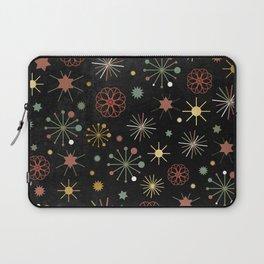 Chalkboard Christmas Pattern 03 Laptop Sleeve