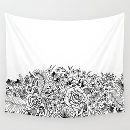 edge of the meadow Wall Tapestry