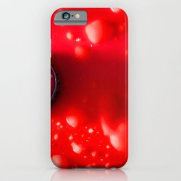 Red Bud iPhone Case