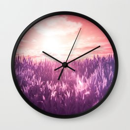 When Nature Loves #society6 #art #prints Wall Clock