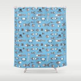 Underwater Shower Curtain