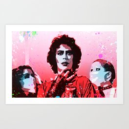 The Rocky Horror Picture Show - Pop Art Art Print