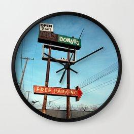 Bill's Donuts Wall Clock