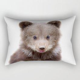 Baby Bear Cub Rectangular Pillow