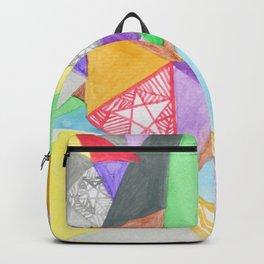 Triangle Stars Backpack