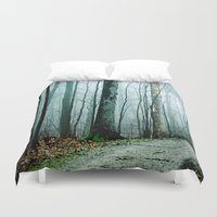 dave grohl Duvet Covers featuring Feel the Moment Slip Away by Olivia Joy StClaire