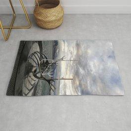 Sólfar - The Sun Voyager Rug