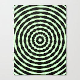stare hard Canvas Print
