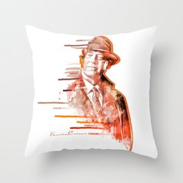 The Blacklist - Raymond Reddington Throw Pillow