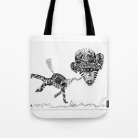 obama Tote Bags featuring Barack Obama by Arber Thano