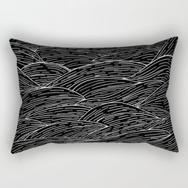 The Dark Sea Rectangular Pillow