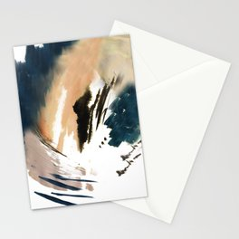 Twilight Wandering - a watercolor and ink abstract  Stationery Cards
