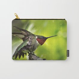 Hummingbird Dominance Carry-All Pouch