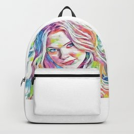 Ashley Benson (Creative Illustration Art) Backpack