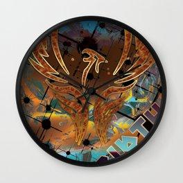 Rebirth of the Phoenix Wall Clock