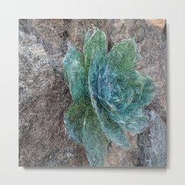 Green Beauty Metal Print