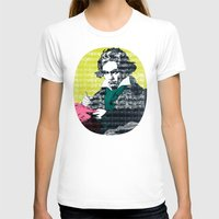 beethoven T-shirts featuring Ludwig van Beethoven 9 by Marko Köppe
