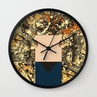 percy jackson Wall Clocks featuring Jackson  by Macu