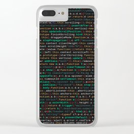 Coding Clear iPhone Case