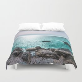 Turquoise Cove Duvet Cover