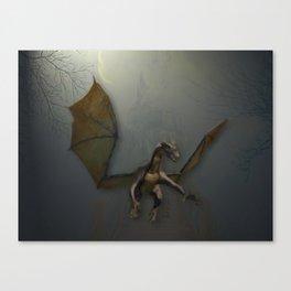 Dragon guard Canvas Print