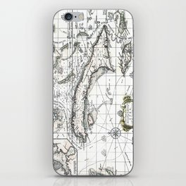 The island of Cuba - 1762 iPhone Skin