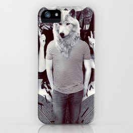 Opposite Flow iPhone Case