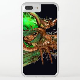 Carry Us Home Clear iPhone Case