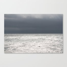 Ominous Ocean Canvas Print