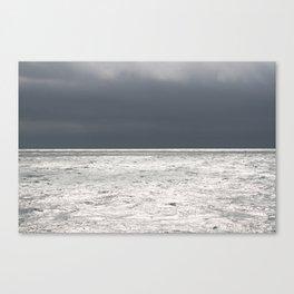 Ominous Ocean Canvas Print