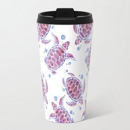 Beautiful Decorative Abstract Turtles Travel Mug