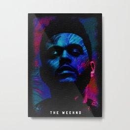 TheWeekndd  Hip Hop Heads Minimalist Metal Print