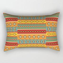 Barefooted in sarong Rectangular Pillow