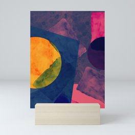 Abstrato Aquarela 001 Mini Art Print