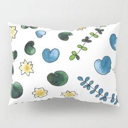 water lilies pattern Pillow Sham