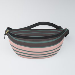 Five colors striped art homedecor Fanny Pack