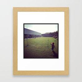 Children Walk Framed Art Print