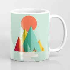 Little Geometric Tipi Mug