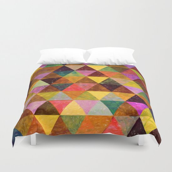 Abstract #370 Duvet Cover