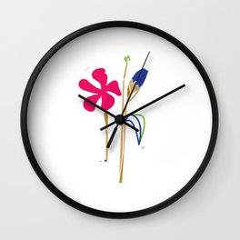 Two Year Anniversary Wall Clock