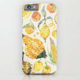Harvest of Yellow - Neutral iPhone Case