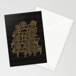 """Shimmy Shimmy Ya, Shimmy Yam, Shimmy Yay."" Stationery Cards"