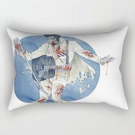 Zombie bop-a-lula Rectangular Pillow