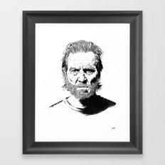 Jeff Framed Art Print