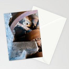 Old Rusty Salt Machine Stationery Cards