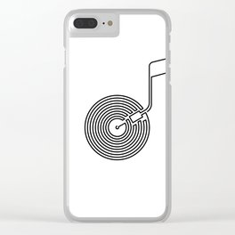 Long Play Clear iPhone Case