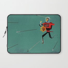 The Time Travelling Pirate Laptop Sleeve