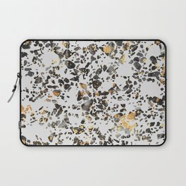 Gold Speckled Terrazzo Laptop Sleeve