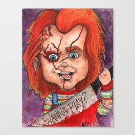 Wanna Play? Canvas Print