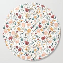 Deep Florals Cutting Board